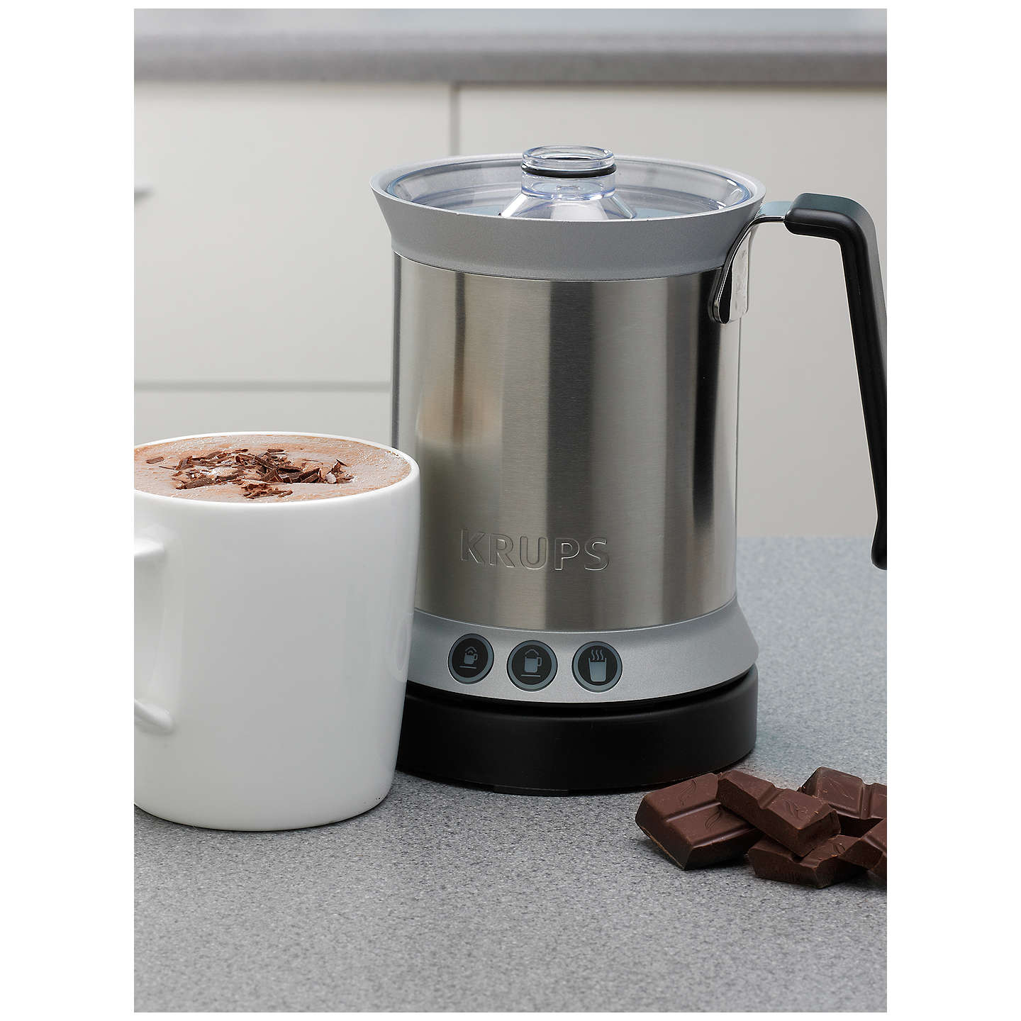 ... BuyKRUPS XL200044 Milk Frother Online At Johnlewis.com ...