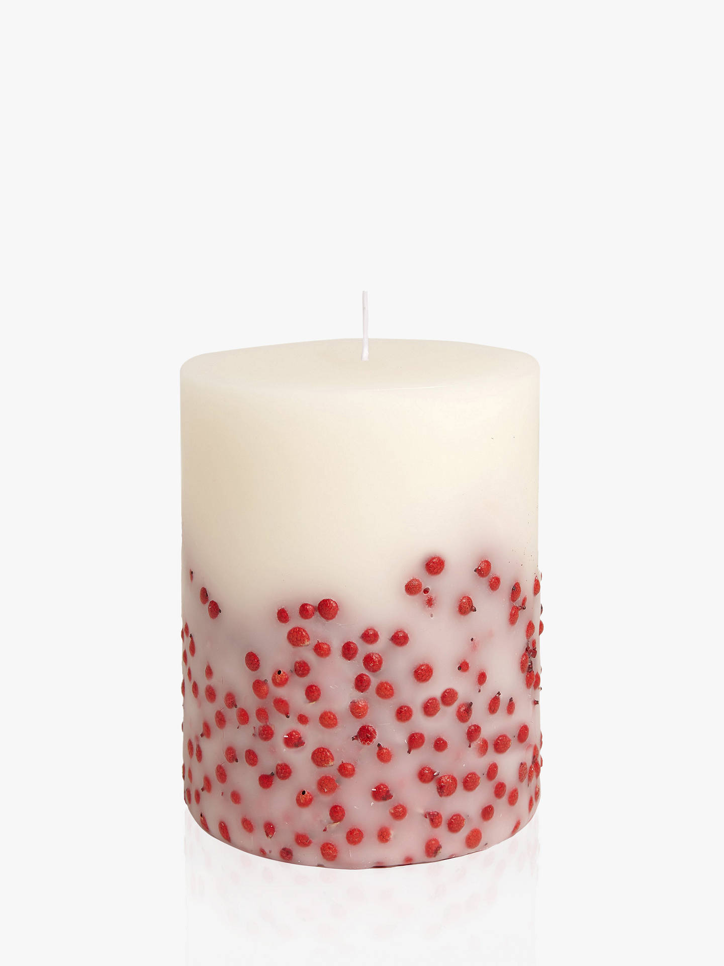 BuyAcqua di Parma Fruit and Flower Red Berries Candle, 900g Online at johnlewis.com