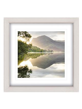 Mike Shepherd - Sunrise On Buttermere Framed Print, 65 x 65cm