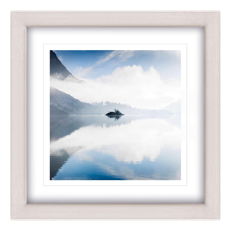 Mike Shepherd - Morning On Ullswater Framed Print, 65 x 65cm at John ...