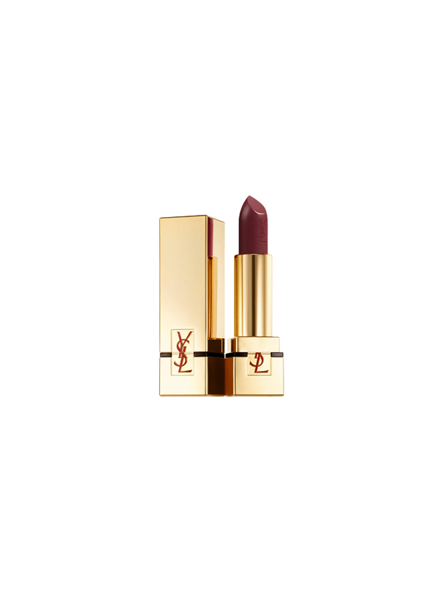 BuyYves Saint Laurent Rouge Pur Couture Lipstick, 54 Prune Avenue Online at johnlewis.com