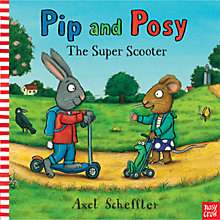 Buy Pip & Posy: Super Scooter Book Online at johnlewis.com
