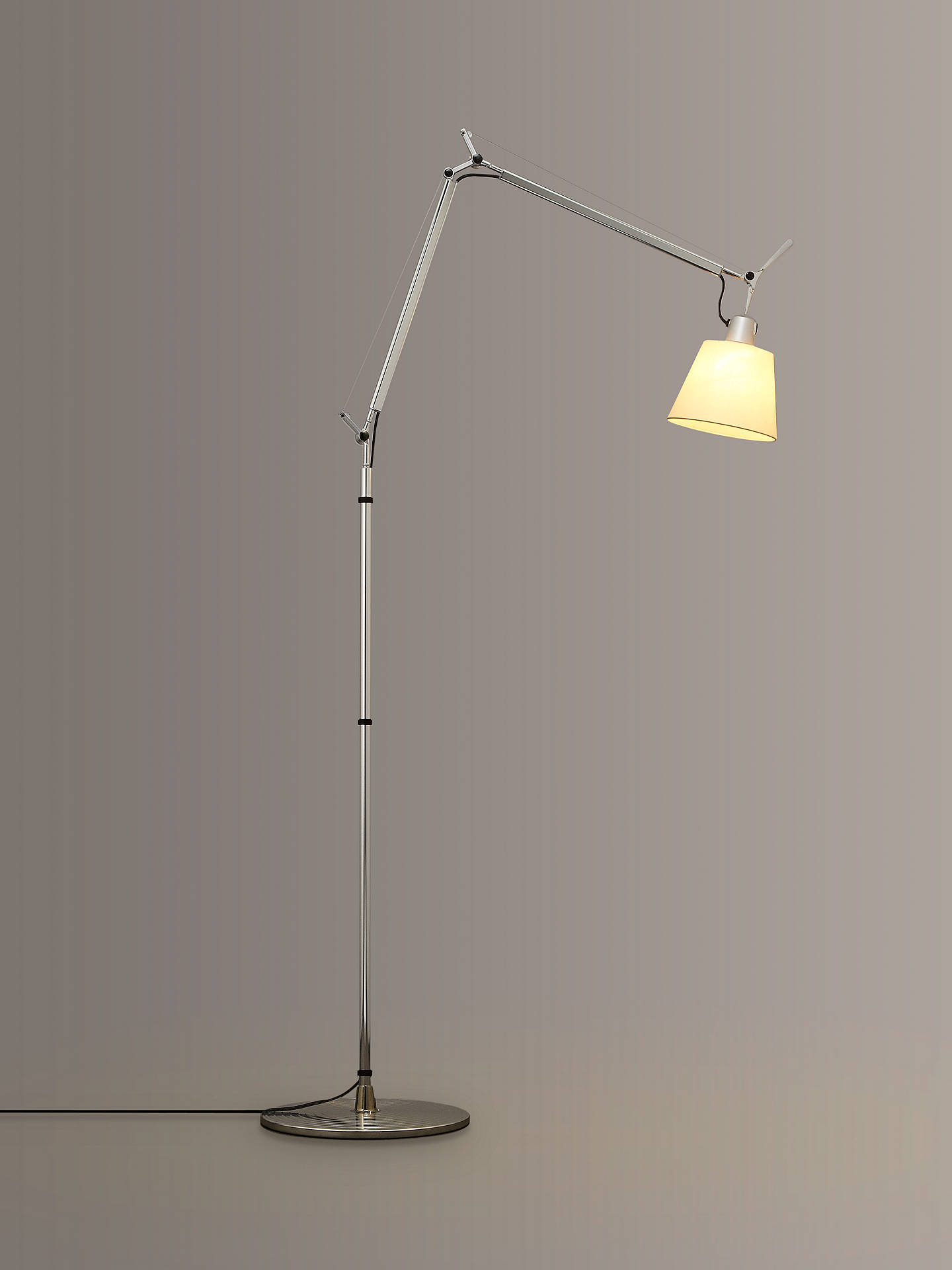 BuyArtemide Tolomeo Parchment Floor Lamp, Small Online at johnlewis.com