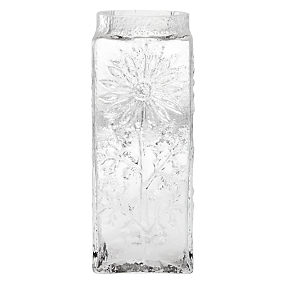 Dartington Crystal Marguerite Vase, Clear, Large