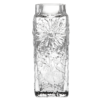 Dartington Crystal Marguerite Vase, Clear, Small