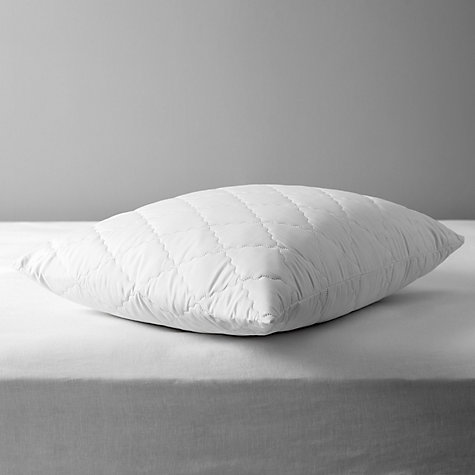 Buy John Lewis Soft Touch Washable Square Pillow Protector, Pair Online at johnlewis.com