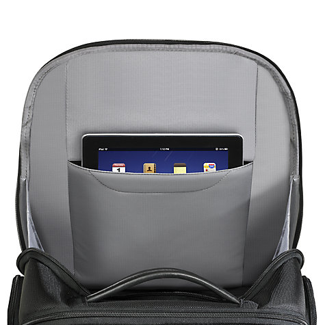 "Buy Briggs & Riley Clamshell 17"" Laptop Backpack, Black Online at johnlewis.com"
