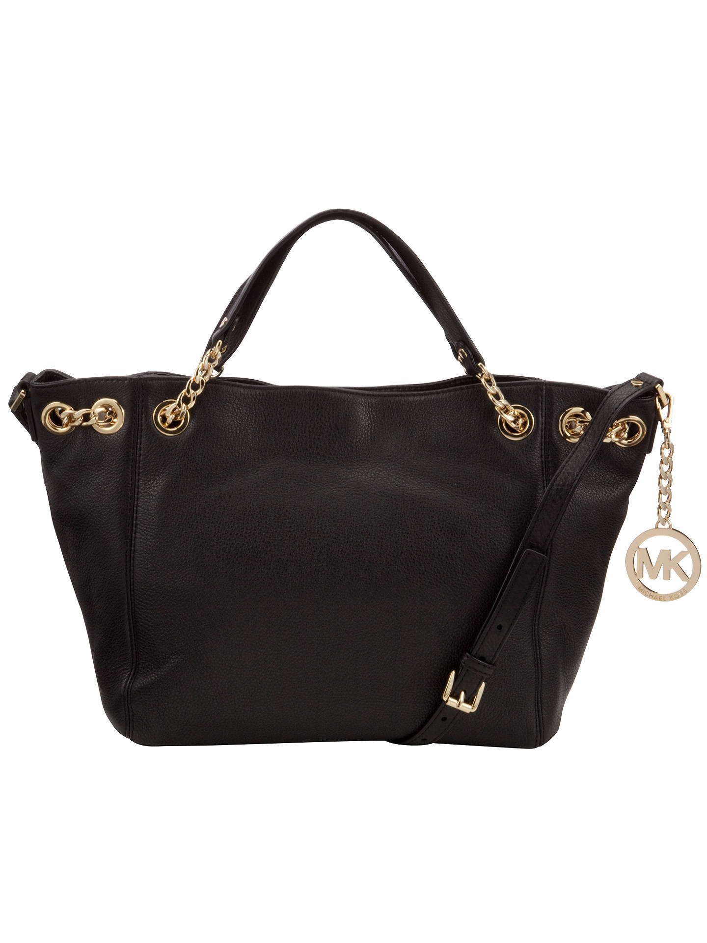 71f6ac69eb2 MICHAEL Michael Kors Jet Set Chain Medium Leather Shoulder Bag at ...