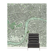 Buy Surface View Chart of London Wall Mural, 240 x 265cm Online at johnlewis.com