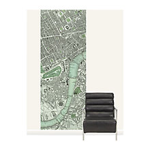 Buy Surface View Chart of London Wall Mural, 100 x 265cm Online at johnlewis.com