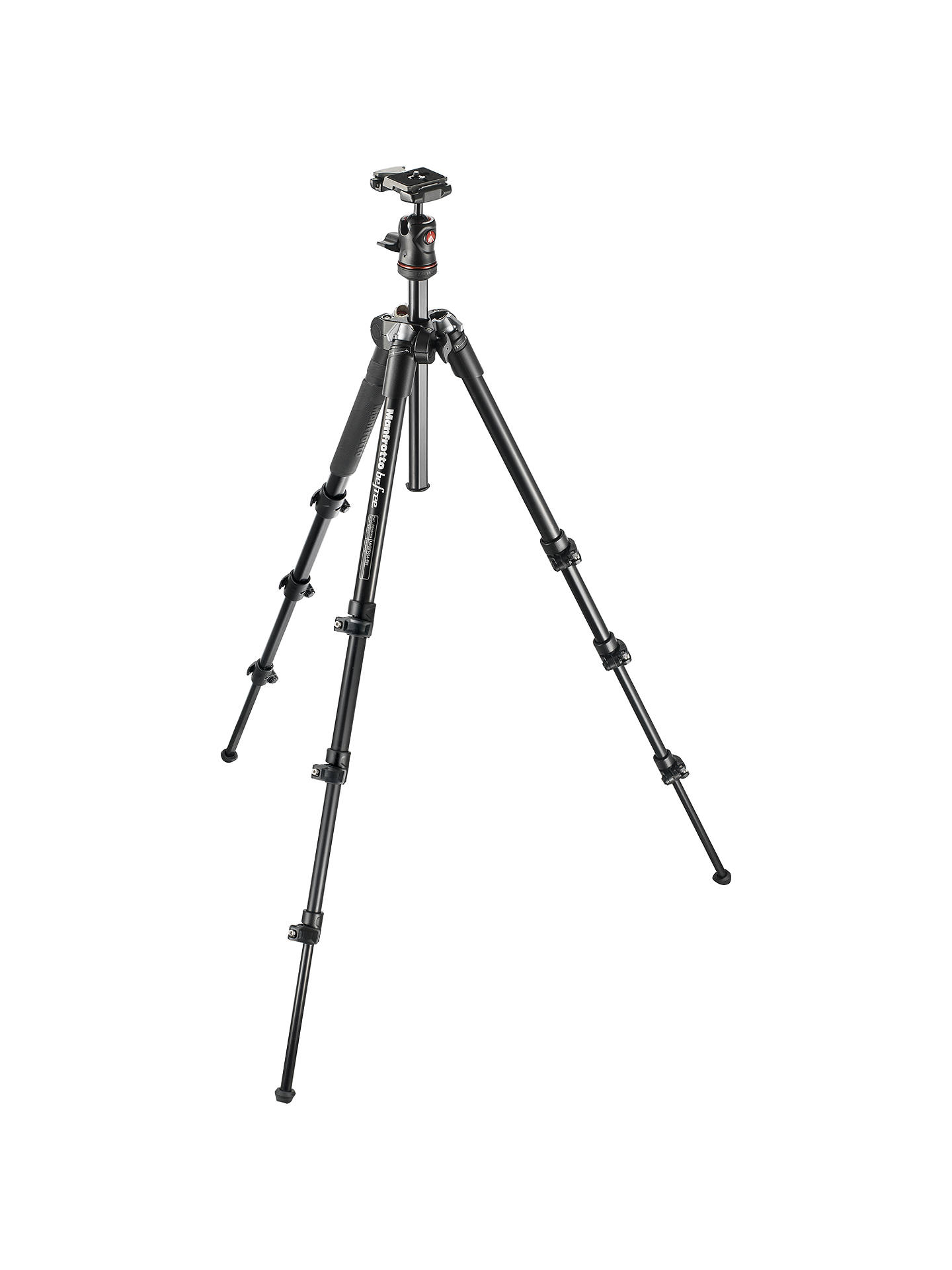 Buy Manfrotto MKBFRAA4-BH Befree Travel Tripod Online at johnlewis.com