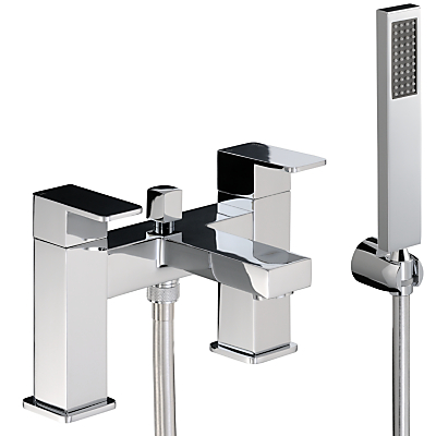 Image of Abode Fervour Deck Mounted Bath/Shower Mixer Tap with Shower Handset