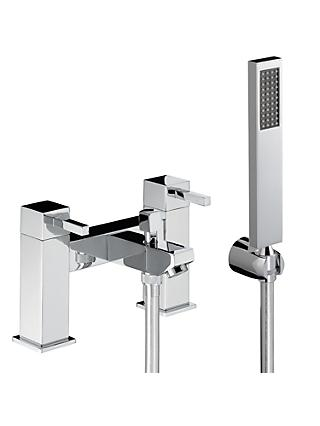Abode Zeal Deck Mounted Bath/Shower Mixer with Shower Handset