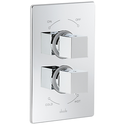 Image of Abode Euphoria Serenitie Thermostatic 2 Exit Concealed Shower Mixer