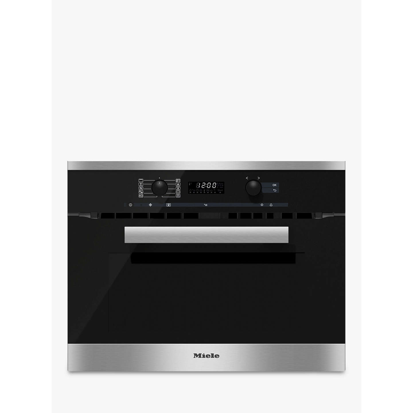 Miele H6200BM PureLine Built-In Combination Microwave Oven