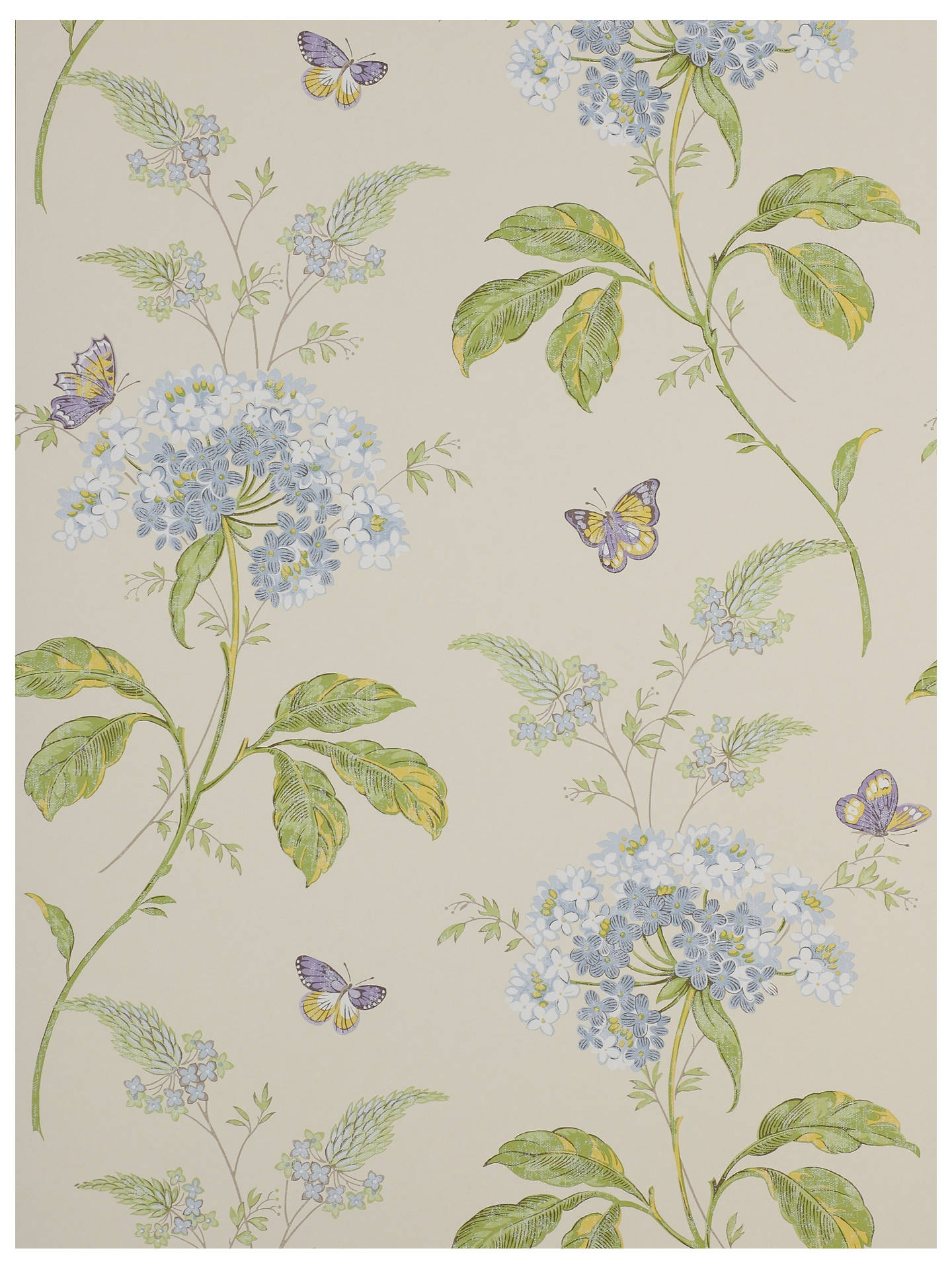 Buy Colefax and Fowler Messina Wallpaper, Blue / Green, 07132/05 Online at johnlewis.com