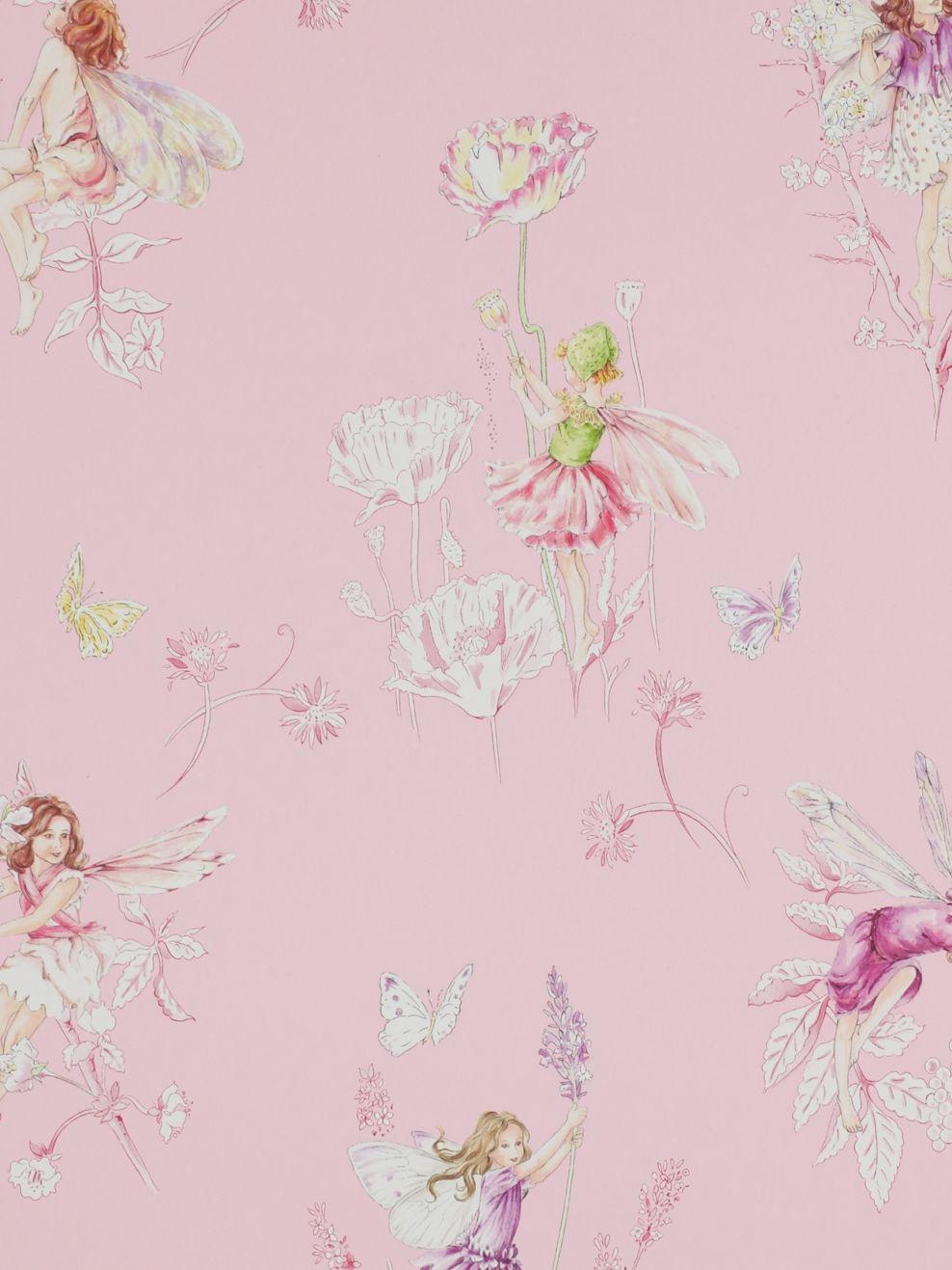 Jane Churchill Jane Churchill Meadow Flower Fairies Wallpaper