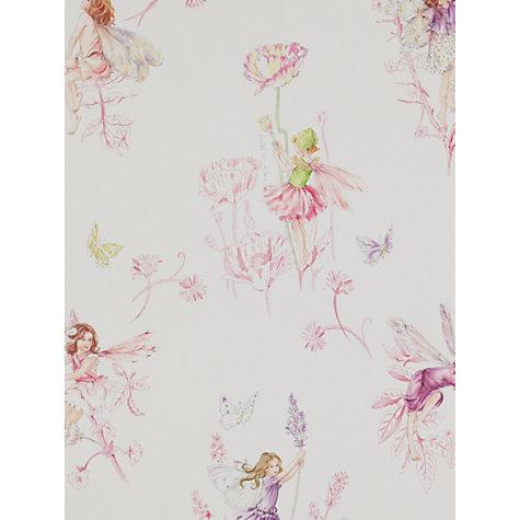 Buy Jane Churchill Meadow Flower Fairies Wallpaper John