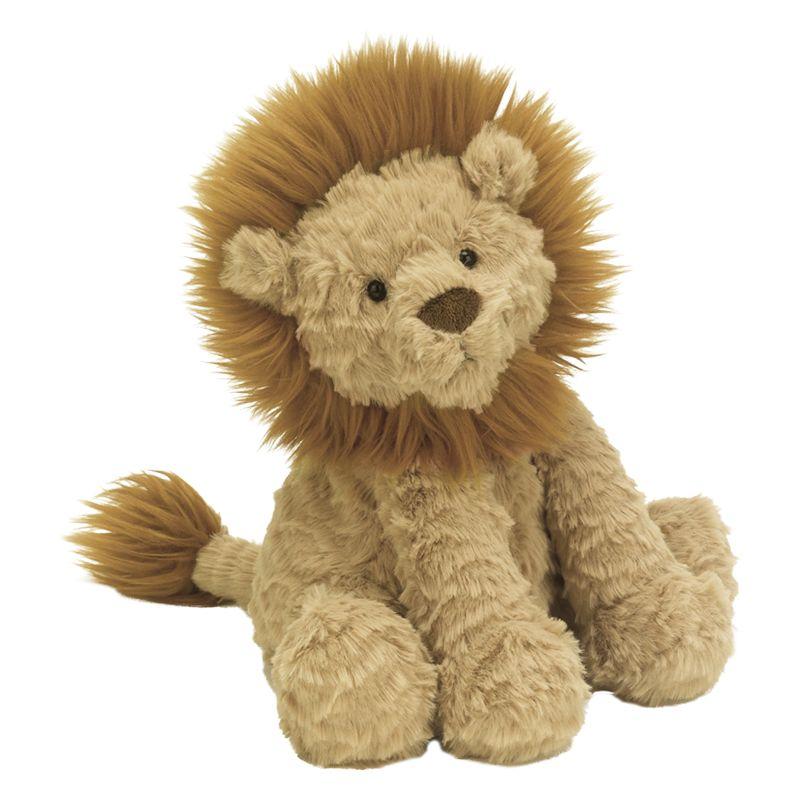 Jellycat Fuddlewuddle Lion Soft Toy and The Very Brave Lion Book Bundle 239f75746688