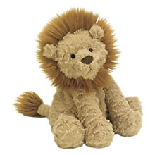 Buy Jellycat Fuddlewuddle Lion Soft Toy, Medium, Beige Online at johnlewis.com
