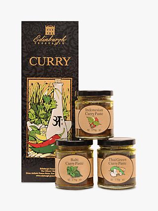 Edinburgh Preserves Curry Set, 3 x 170g