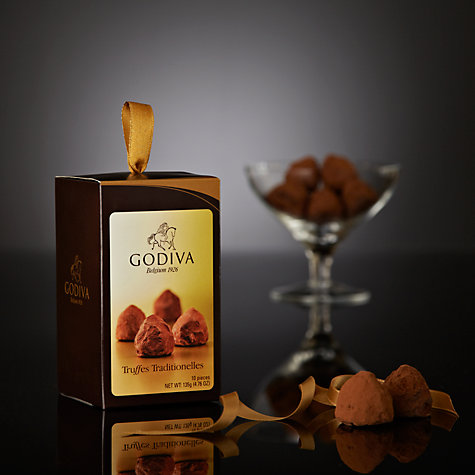 Buy Godiva Truffles Traditionelles Cornet, 135g Online at johnlewis.com