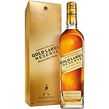 Buy Johnnie Walker Limited Edition Gold Label Reserve, 70cl Online at johnlewis.com