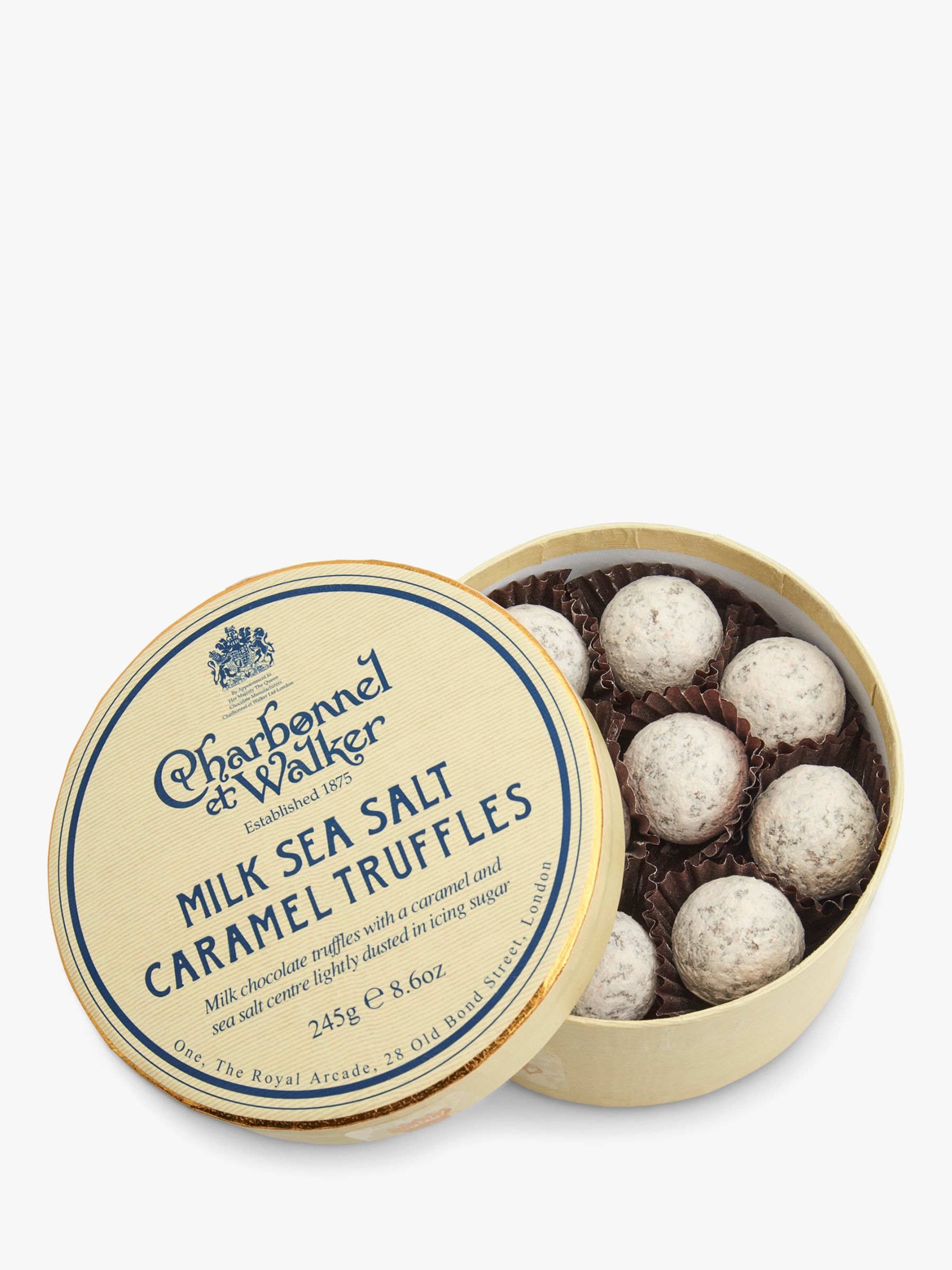 Charbonnel et Walker Charbonnel et Walker Seasalt Caramel Milk Truffles, 245g