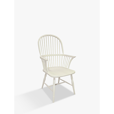 Croft Collection Marple Carver Dining Chair, FSC-Certified (Beech), Cream
