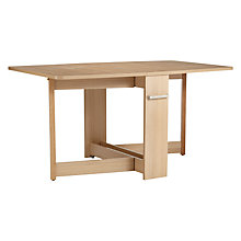 Buy Leonhard Pfeifer for John Lewis Croyde 6 Seater Drop Leaf Folding Dining Table Online at johnlewis.com