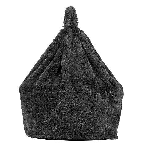 Buy John Lewis Faux Fur Bean Bag John Lewis
