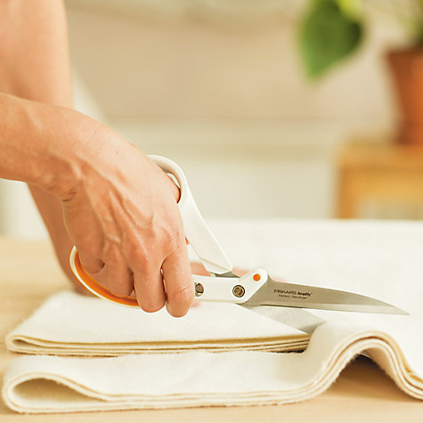 Buy Fiskars Servocut Heavy Duty Dressmaking Scissors, 24cm Online at johnlewis.com