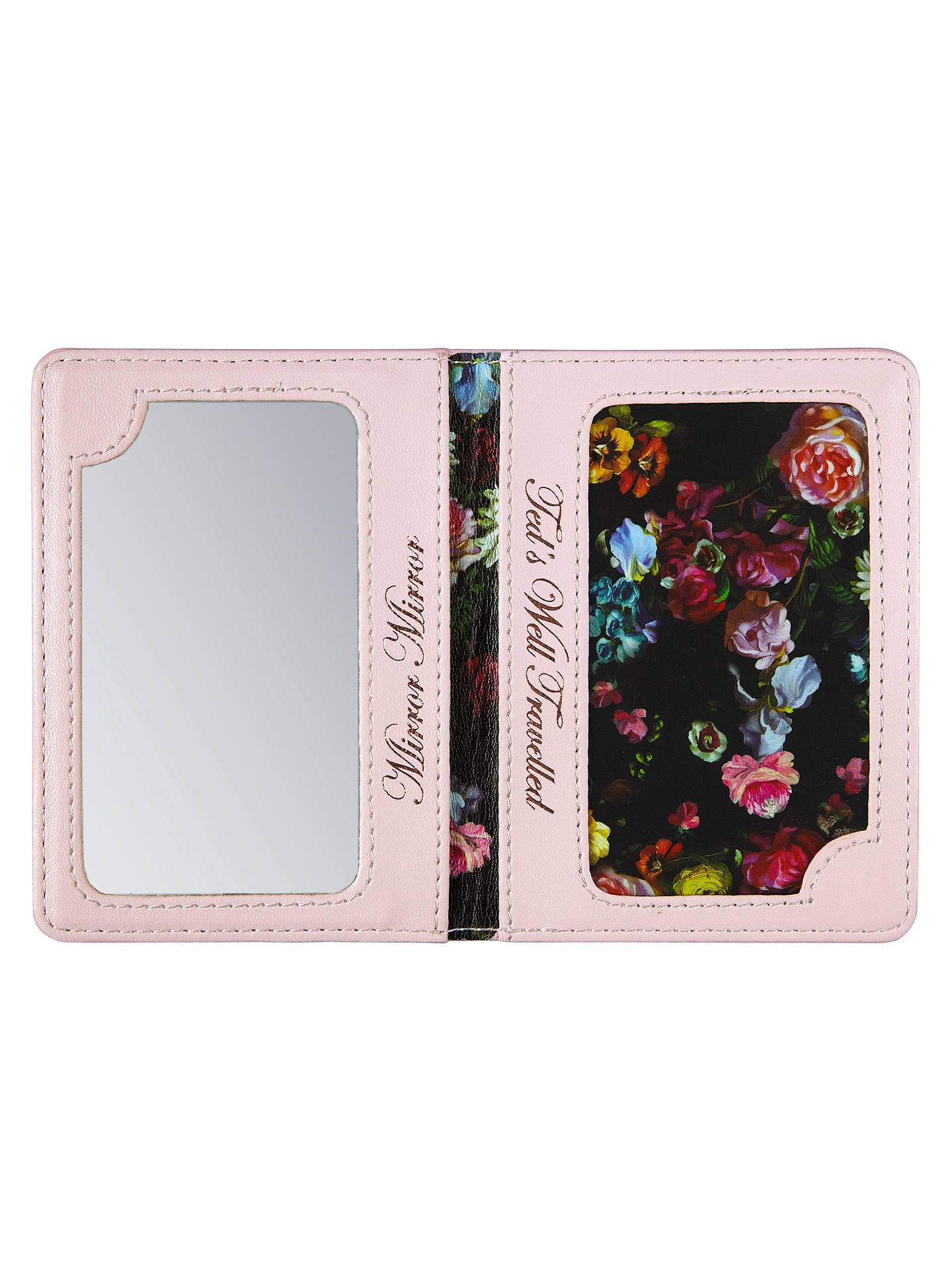 huge discount 75e92 c64f3 Ted Baker Travel Card Holder and Mirror at John Lewis & Partners