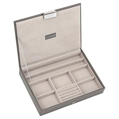 Buy Stackers Jewellery Box Lid Mink John Lewis