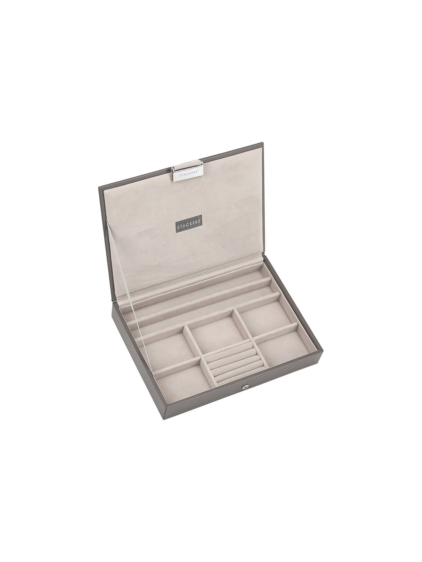 c2cb7fb9b Buy Stackers Jewellery Box Lid, Mink Online at johnlewis.com ...