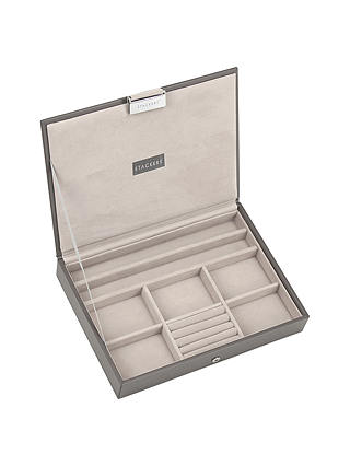 Buy Stackers Jewellery Box Lid, Mink Online at johnlewis.com
