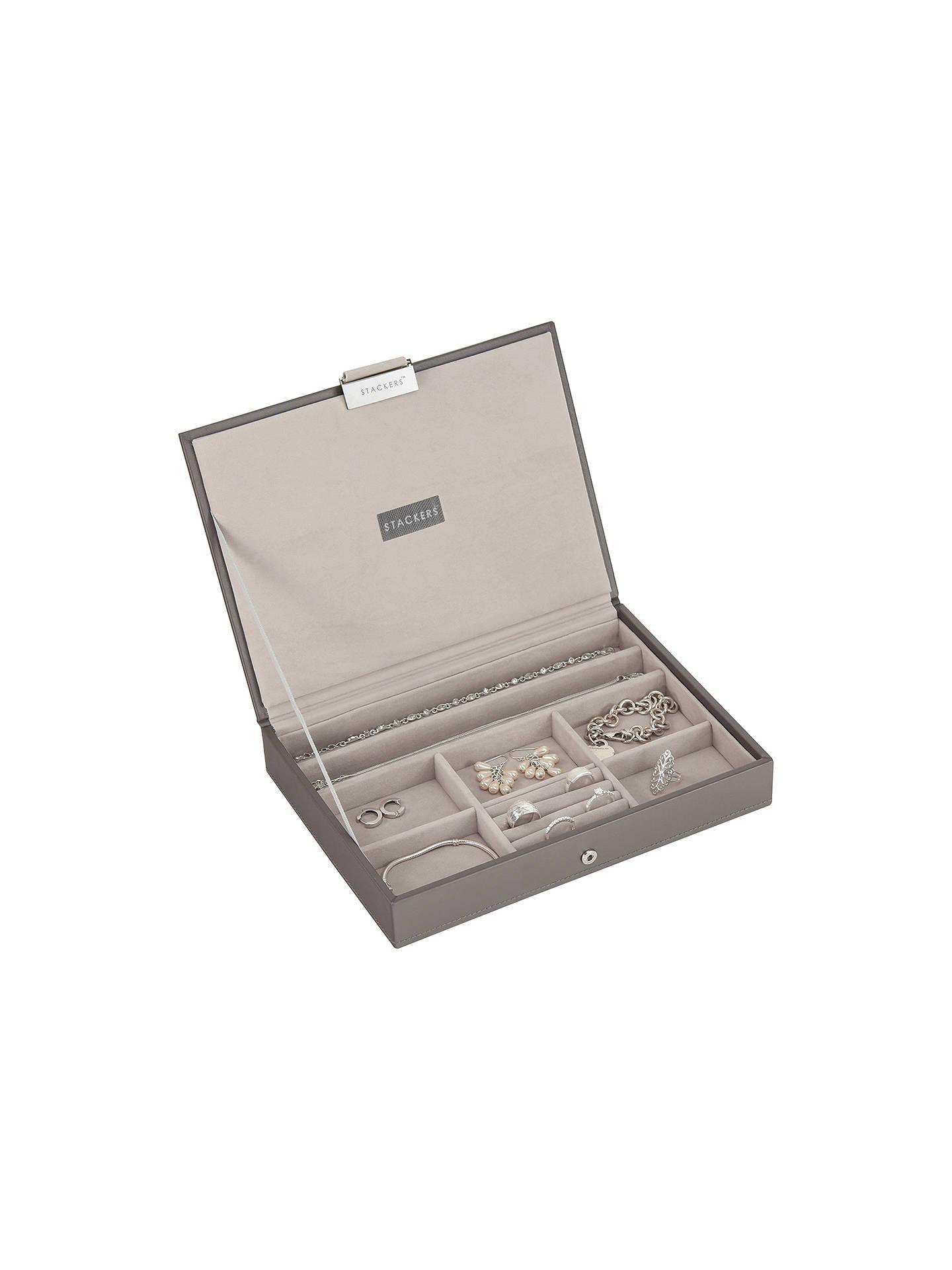 f967f3b44 ... Buy Stackers Jewellery Box Lid, Mink Online at johnlewis.com ...
