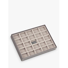 Buy Stackers Jewellery 25-section Tray, New Mink Online at johnlewis.com