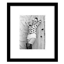 Buy Getty Images Gallery Debbie Harry Framed Print, 57 x 49cm Online at johnlewis.com