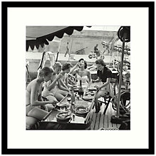 Buy Getty Images Gallery Lunch Time Framed Print, 59 x 59cm Online at johnlewis.com
