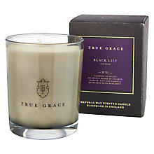 Buy True Grace Manor Black Lily Scented Candle Online at johnlewis.com