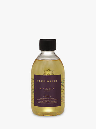 Buy True Grace Manor Black Lily Refill, 250ml Online at johnlewis.com