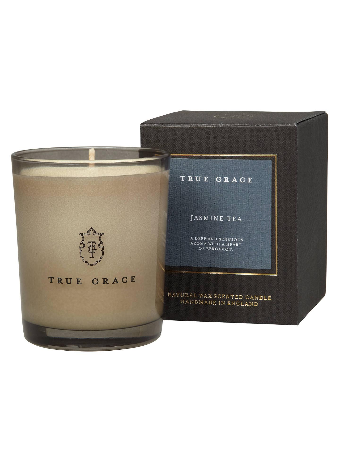 True Grace Jasmine Tea Scented Candle at John Lewis & Partners