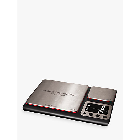 Buy Heston Blumenthal by Salter Dual Precision Digital Scale, 10kg Online at johnlewis.com