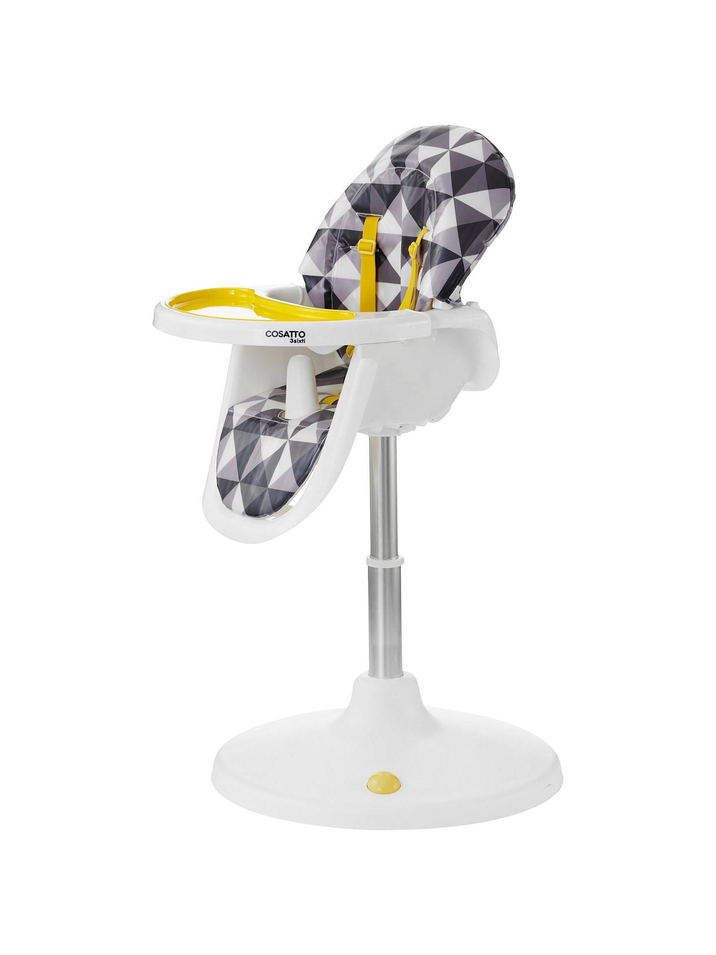 Wondrous Cosatto 3Sixti Circle Highchair Op Pop At John Lewis Partners Creativecarmelina Interior Chair Design Creativecarmelinacom