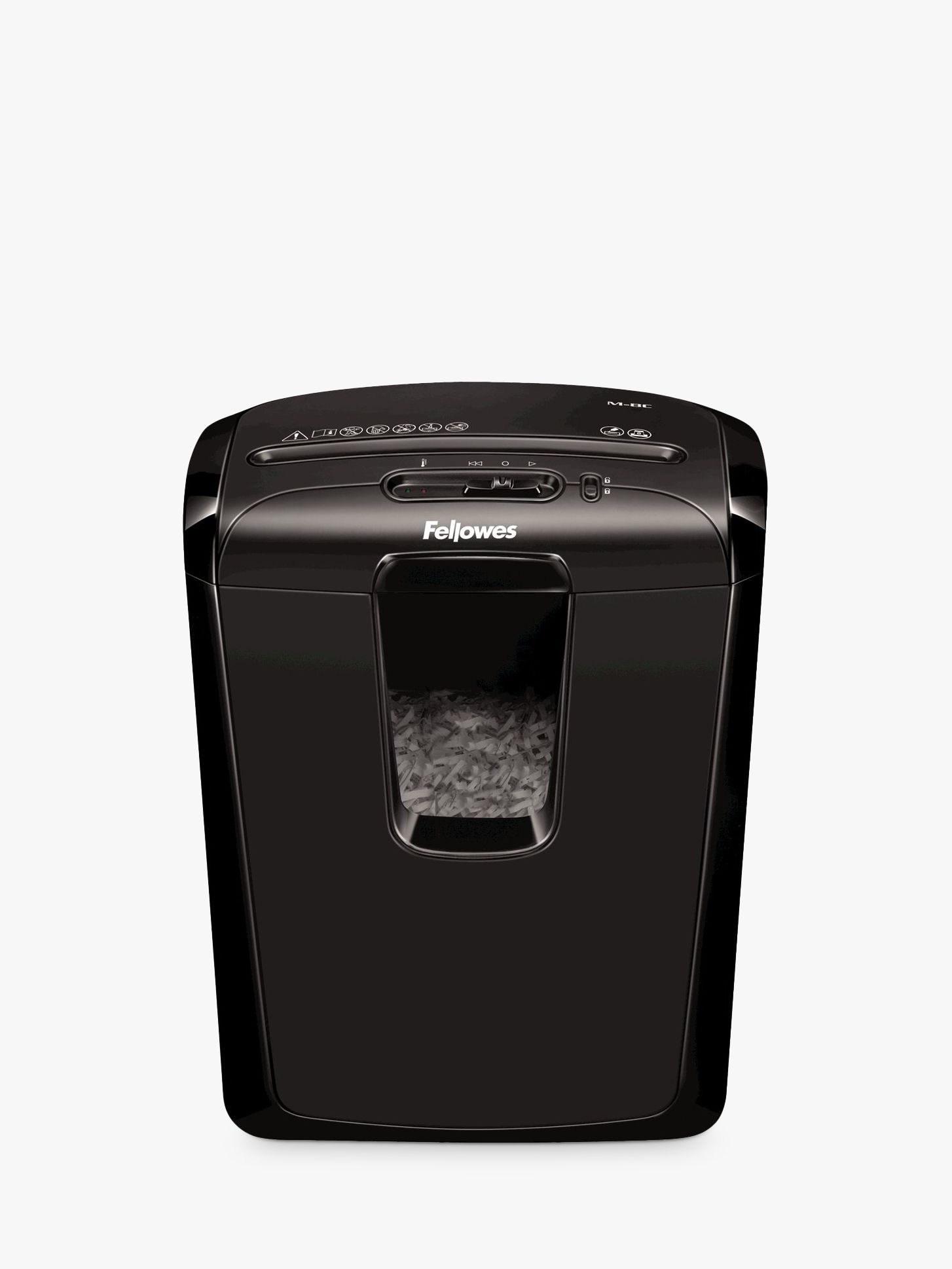 Fellowes Fellowes Powershred M-8C Cross Cut Shredder, 15L