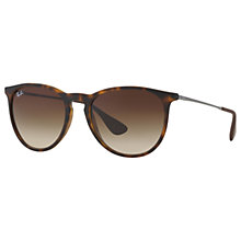 Buy Ray-Ban RB4171 865/13 Wayfarer Sunglasses, Havana Online at johnlewis.com
