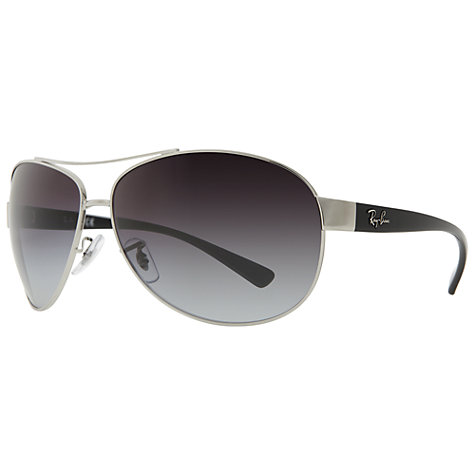 Buy Ray-Ban RB3386 Oval Aviator Sunglasses Online at johnlewis.com