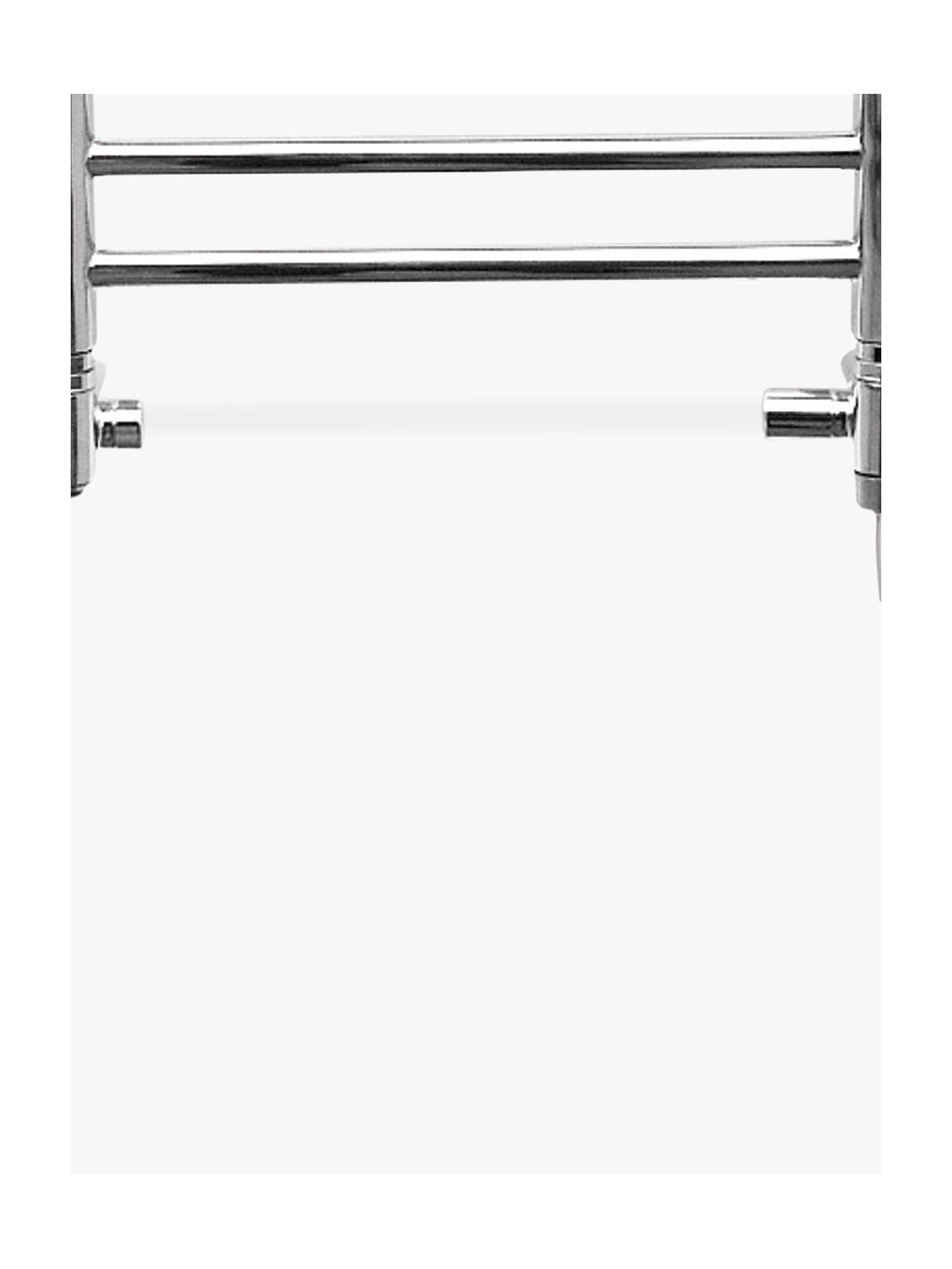 john lewis partners holkham dual fuel heated towel rail. Black Bedroom Furniture Sets. Home Design Ideas