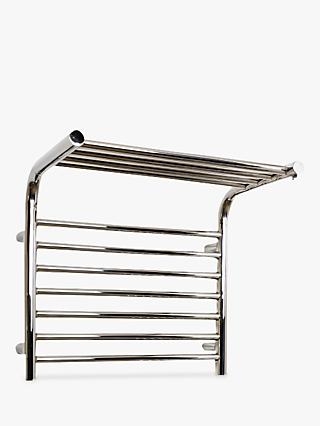 John Lewis & Partners Lunan Adjustable Electric Heated Towel Rail
